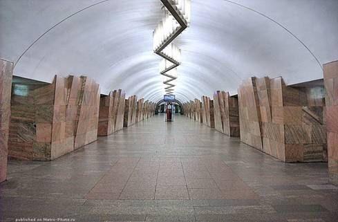 метро баррикадная фото